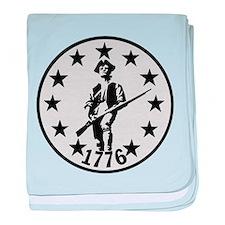 Original Minute Man baby blanket