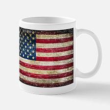 Faded American Flag Mug