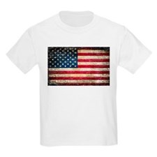 Faded American Flag T-Shirt