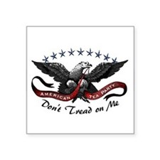 American Tea Party Sticker