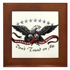 American Tea Party Framed Tile