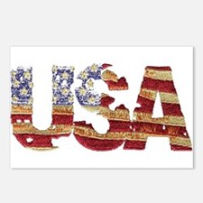 Worn USA Postcards (Package of 8)