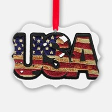 USA Patch Ornament