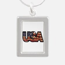 USA Patch Necklaces