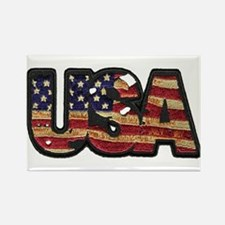 USA Patch Rectangle Magnet