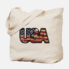 USA Patch Tote Bag