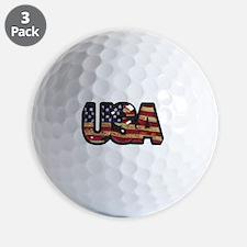 USA Patch Golf Ball