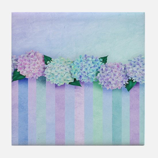 Hydrangea Dreams Tile Coaster