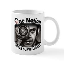 One Nation Under Surveillance Small Mug