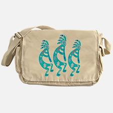 Lizard Kokopelli Messenger Bag