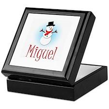 Snowman - Miguel Keepsake Box