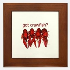got crawfish? Framed Tile