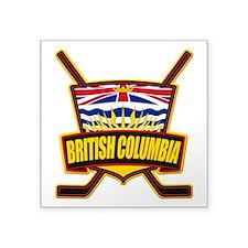British Columbia Hockey Flag Sticker