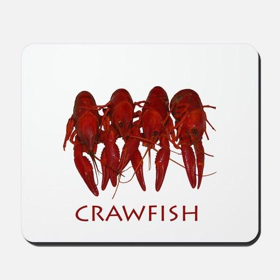 Cooked Crawfish Logo Mousepad