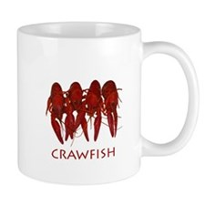 Cooked Crawfish Logo Mug