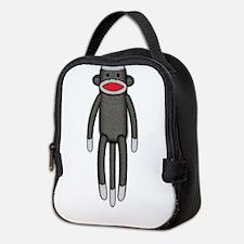 2-sockmonkey.jpg Neoprene Lunch Bag