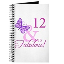 Fabulous 12th Birthday Journal