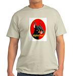 Jolly Dobe Xmas Ash Grey T-Shirt