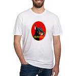 Jolly Dobe Xmas Fitted T-Shirt