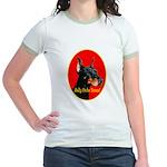 Jolly Dobe Xmas Jr. Ringer T-Shirt