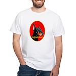Jolly Dobe Xmas White T-Shirt
