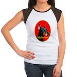 Jolly Dobe Xmas Women's Cap Sleeve T-Shirt
