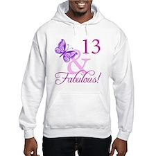 Fabulous 13th Birthday Hoodie