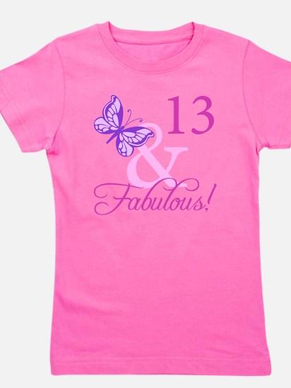 Fabulous 13th Birthday Girl's Tee