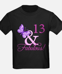 Fabulous 13th Birthday T