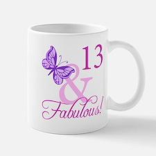 Fabulous 13th Birthday Mug