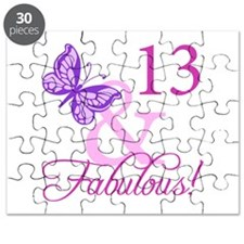 Fabulous 13th Birthday Puzzle