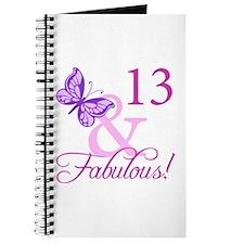 Fabulous 13th Birthday Journal