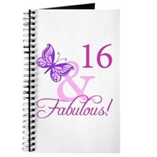 Fabulous 16th Birthday Journal