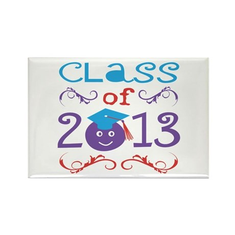 Cute Class of 2013 Rectangle Magnet