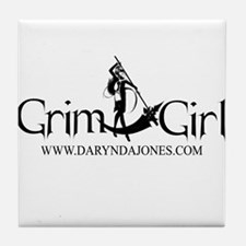 GrimGirl Apparel Tile Coaster