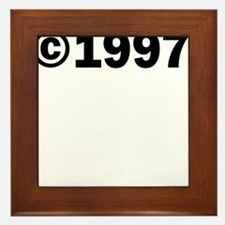 COPYRIGHT 1997 Framed Tile