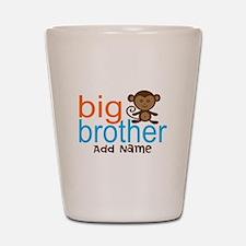 Personalized Monkey Big Brother Shot Glass