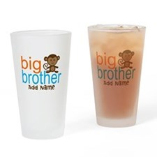 Personalized Monkey Big Brother Drinking Glass
