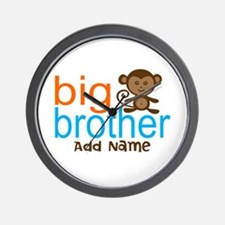 Personalized Monkey Big Brother Wall Clock
