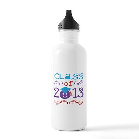 Cute Class of 2013 Water Bottle