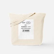 D-MAX Tote Bag