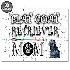 FLAT COAT RETRIEVER MOM Puzzle