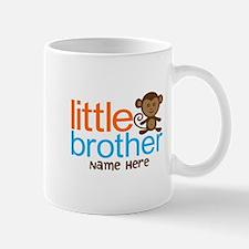 Personalized Monkey Little Brother Mug