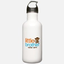 Personalized Monkey Little Brother Water Bottle