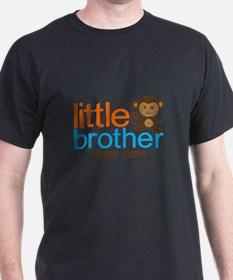 Personalized Monkey Little Brother T-Shirt