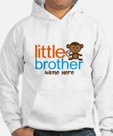 Personalized Monkey Little Brother Hoodie