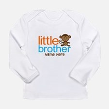 Personalized Monkey Little Brother Long Sleeve Inf