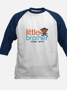 Personalized Monkey Little Brother Kids Baseball J