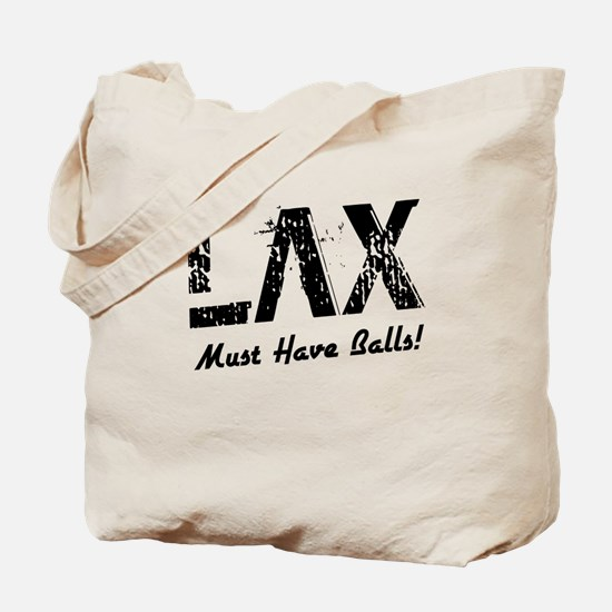 LAX (must have balls) Tote Bag