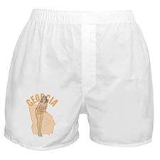 Faded Georgia Pinup Boxer Shorts